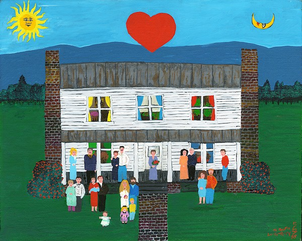 Terry Hall Arts - Mawmaw's Family