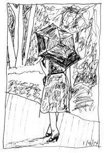 terryhallarts-Sketch_Umbrella_Girl