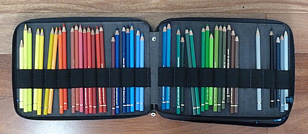 Storage for 60 pencils - I am using Faber-Castell Polychromos