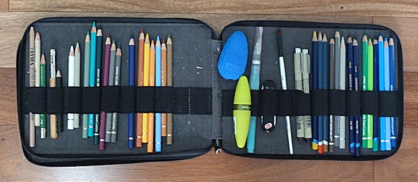 The Working Side of the Pencil Case