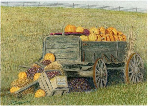 The Pumpkin Wagon
